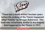 Morgan Robertson Had a Sinking Feeling