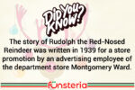 Rhyming Rudolph