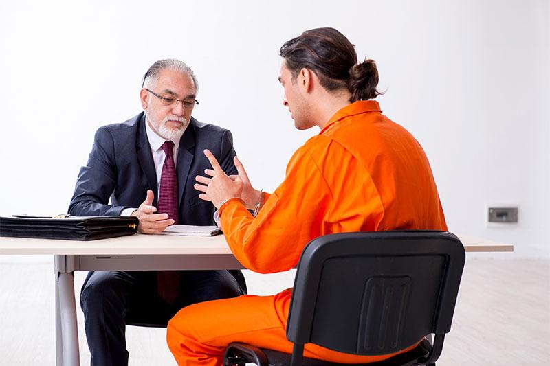 At the parole hearing
