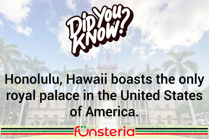 America's Only Royal Palace