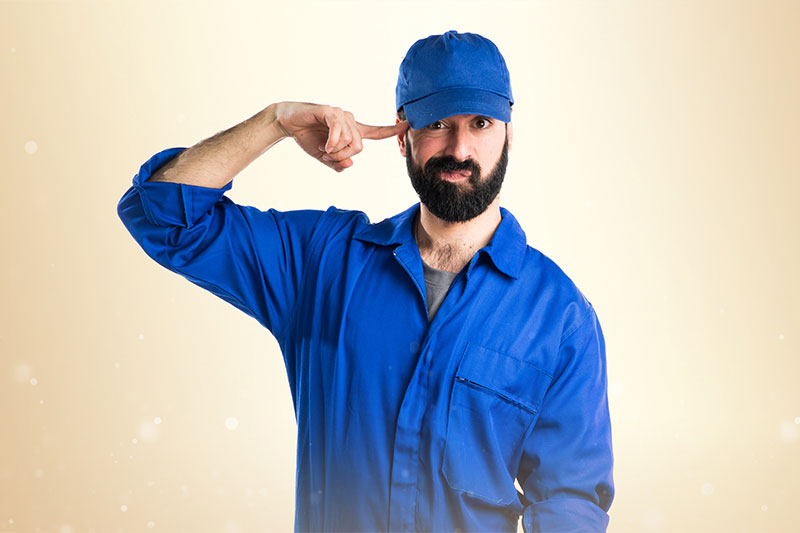 The inexperienced handyman