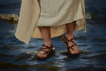 Walking on water?