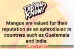Mango, the Fruit of Many Mysteries